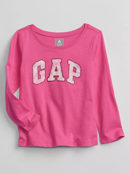 Kız Bebek Pembe Gap Logo T-Shirt
