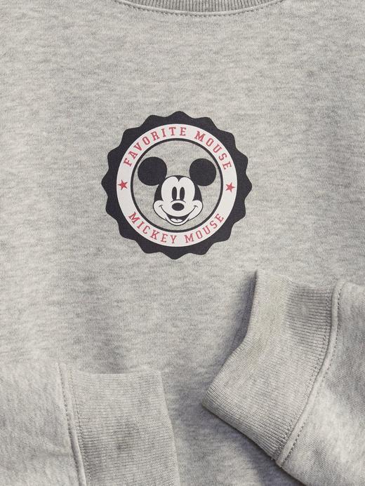 Kız Çocuk gri Disney Mickey Mouse Sweatshirt