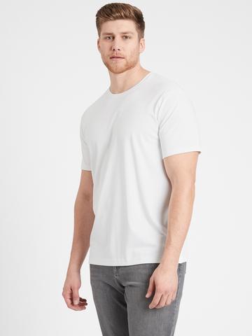 Erkek Beyaz Luxury Touch T-Shirt