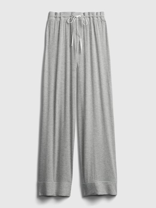 Kadın siyah Modal Karışımlı Pijama Altı