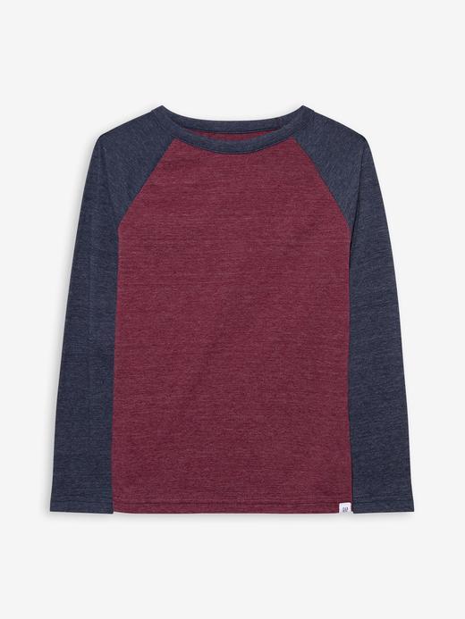 Erkek Çocuk Kırmızı Kids Raglan T-Shirt