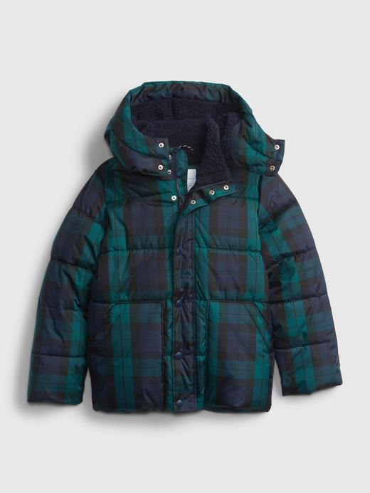 Erkek Çocuk Yeşil ColdControl Puffer Ceket