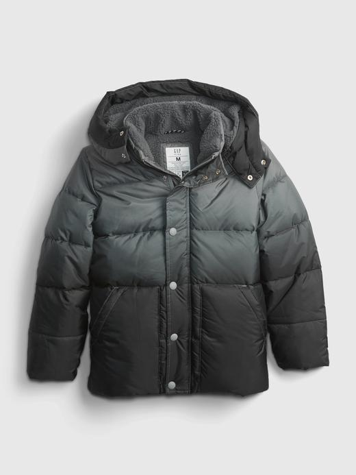 Erkek Çocuk Gri ColdControl Puffer Ceket