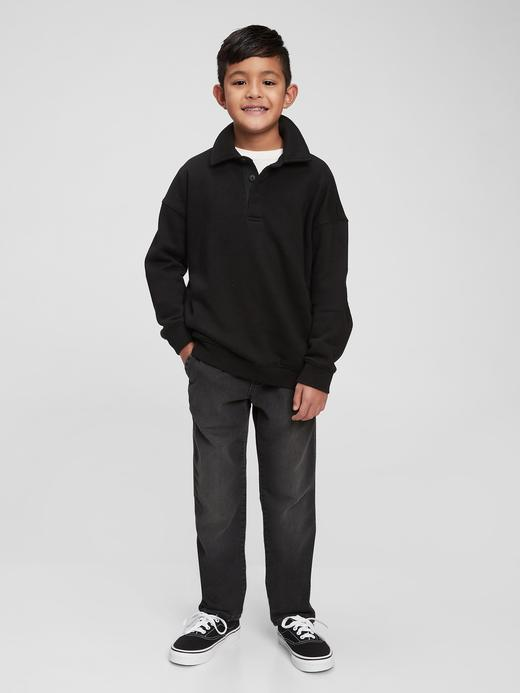 Erkek Çocuk Siyah Denim Jogger Washwell