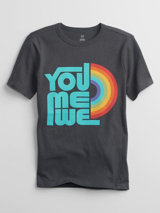 Erkek Çocuk Gri %100 Organik Pamuk T-Shirt