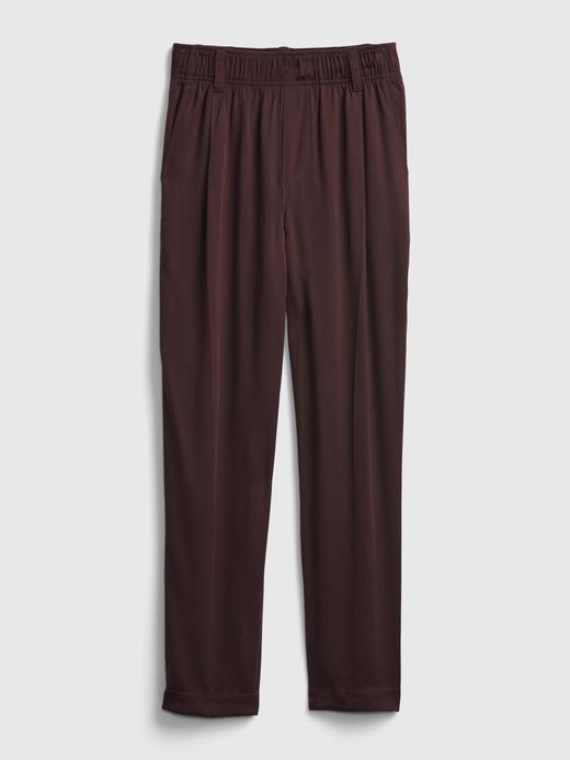Kadın Pembe TENCEL™ Lyocell High Rise Pull-On Pantolon