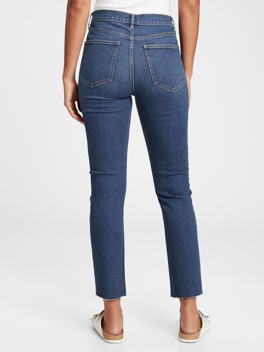 Kadın lacivert High Rise Vintage Slim Washwell™ Jean Pantolon