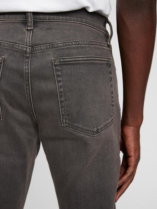 Erkek Gri Washwell™ Soft Wear Slim Jean Pantolon