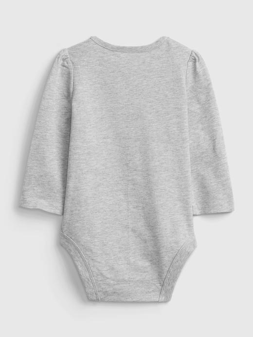 Kız Bebek bej %100 Organik Pamuk Bodysuit