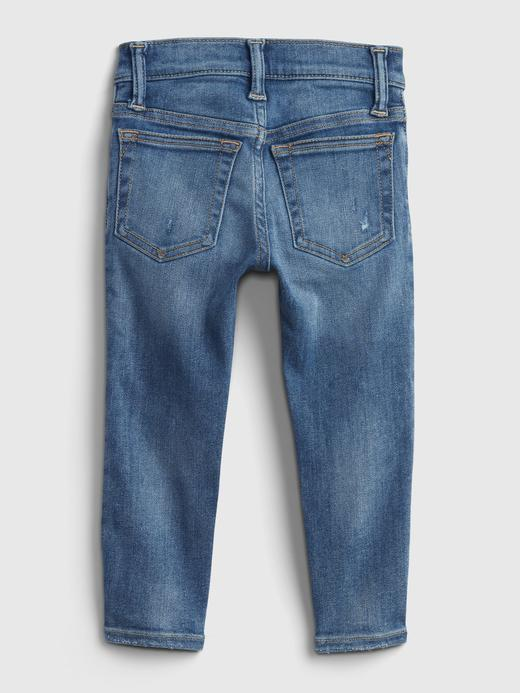 Erkek Bebek Mavi Washwell™ Skinny Jean Pantolon
