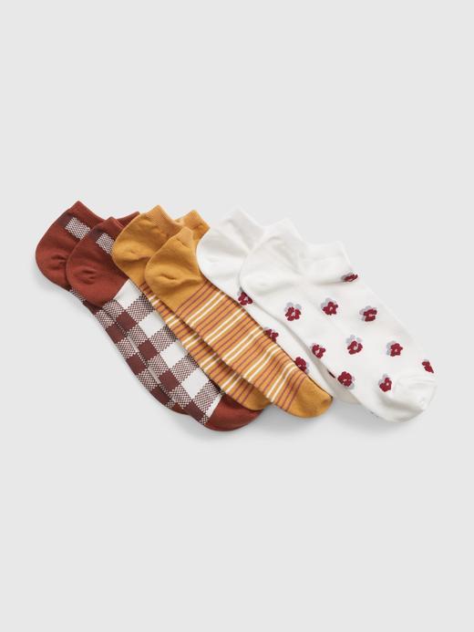 Kadın Çok Renkli 3'lü Çorap Seti