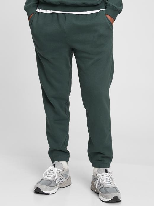 Erkek Yeşil Vintage Soft Jogger Eşofman Altı