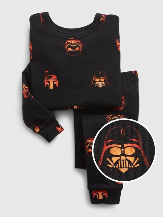 Kız Bebek Siyah %100 Organik Pamuk Star Wars™ Pijama Takımı
