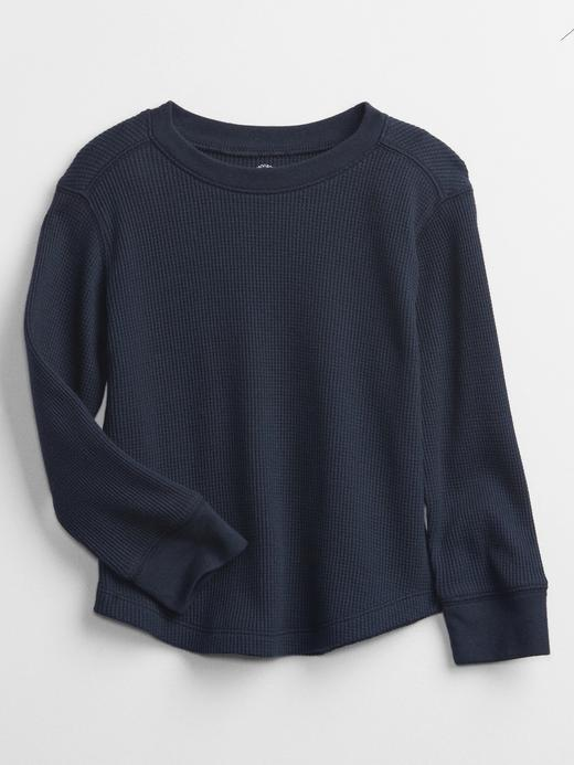 Erkek Bebek Lacivert Uzun Kollu Termal Sweatshirt
