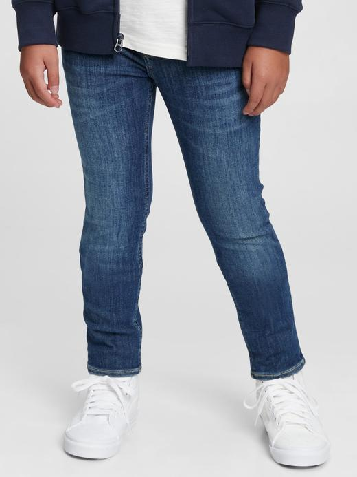 Erkek Çocuk Mavi Washwell™ Skinny Jean Pantolon
