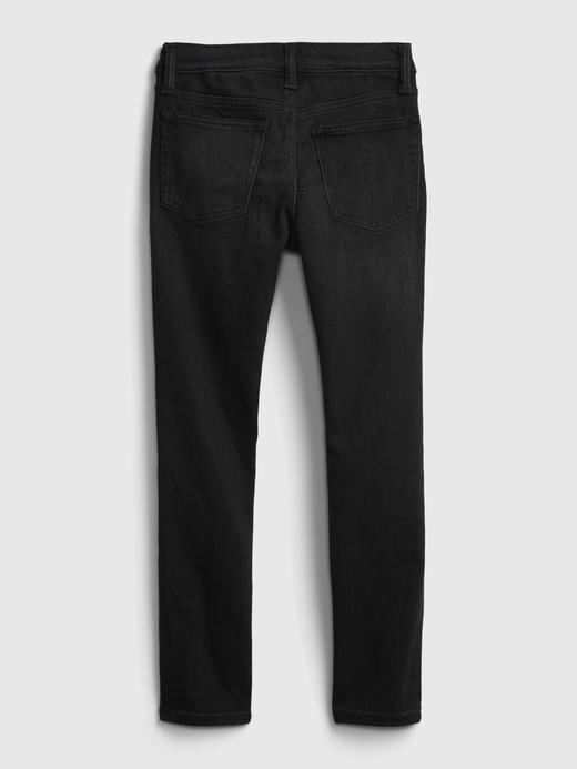 Erkek Çocuk Siyah Washwell™ Skinny Jean Pantolon
