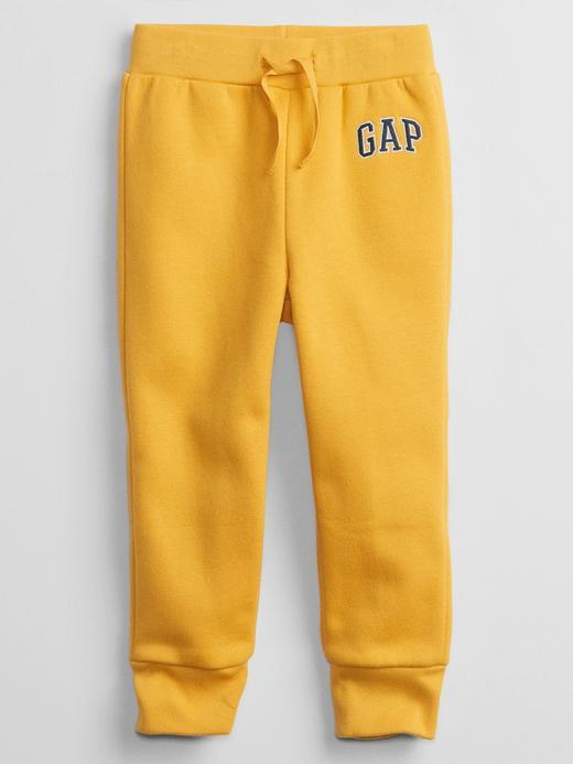 Erkek Bebek Sarı Gap Logo Jogger