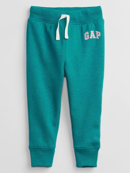 Kız Bebek Yeşil Gap Logo Pull On Eşofman Altı