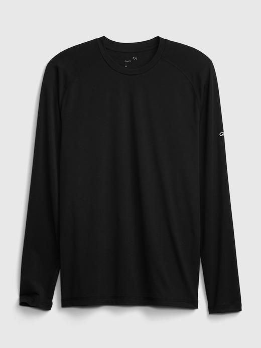 Erkek Gri GapFit Geri Dönüştürülmüş Active T-Shirt