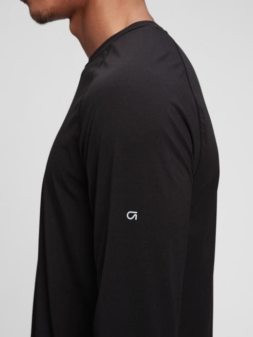 Erkek Yeşil GapFit Geri Dönüştürülmüş Active T-Shirt