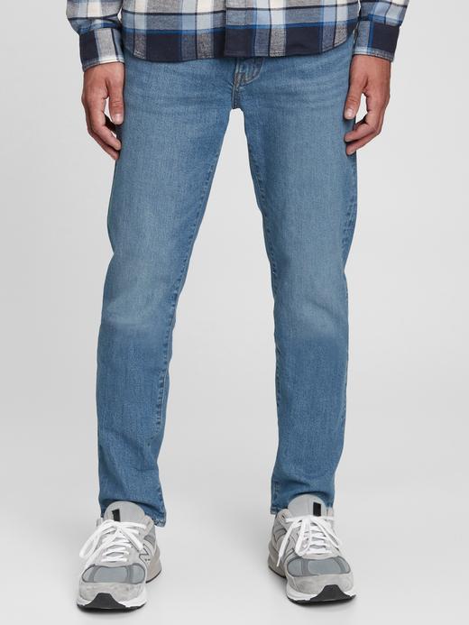 Erkek Mavi Washwell™ Good Slim Fit Jean Pantolon