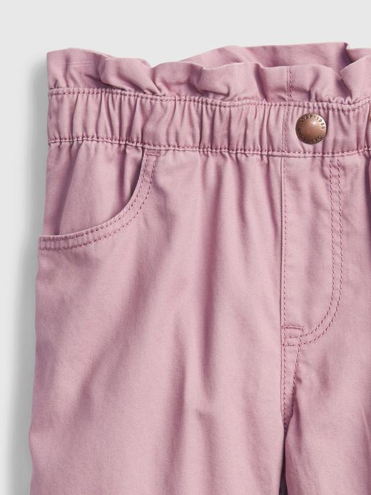Kız Bebek Yeşil Fırfır Detaylı Pull On Pantolon