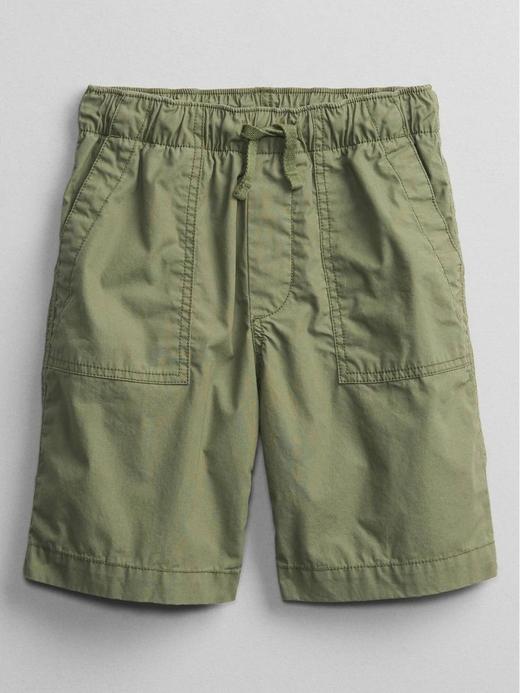 Erkek Çocuk Yeşil Pull-On Şort