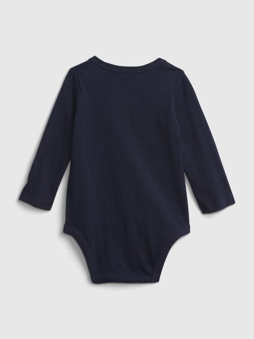 Erkek Bebek Lacivert Gap Logo Bodysuit