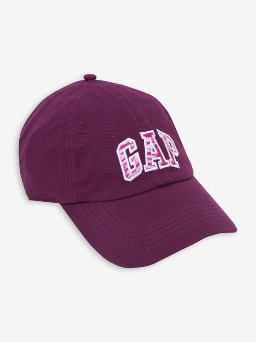 Kadın Mor Gap Logo Beyzbol Şapkası
