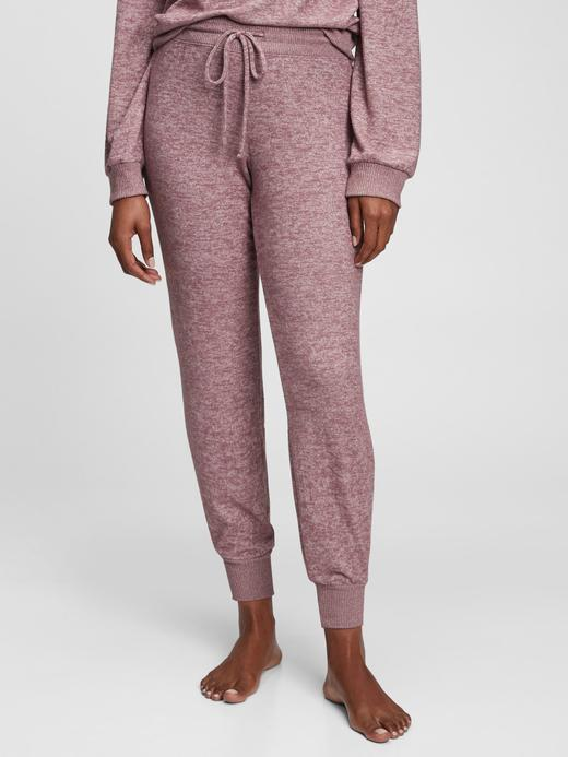 Kadın Pembe Yumuşak Dokulu Pijama Altı