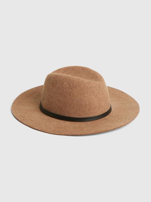 Kadın Bej Yün Fötr Şapka