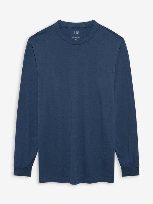 Erkek Lacivert Relaxed Fit T-Shirt