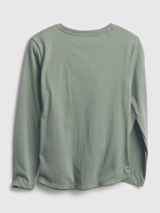 Kız Çocuk Yeşil %100 Organik Pamuk Star Wars™ T-Shirt