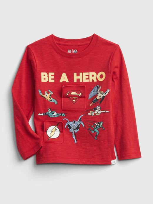 Erkek Bebek Lacivert DC™ İnteraktif T-Shirt