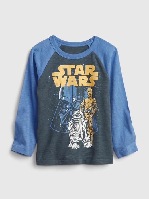 Erkek Bebek Lacivert Star Wars™ T-Shirt