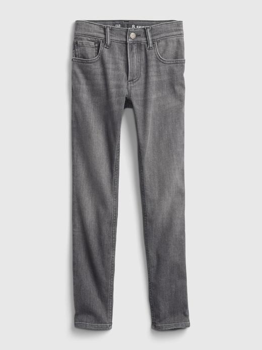 Erkek Çocuk Gri Skinny Washwell™ Jean Pantolon