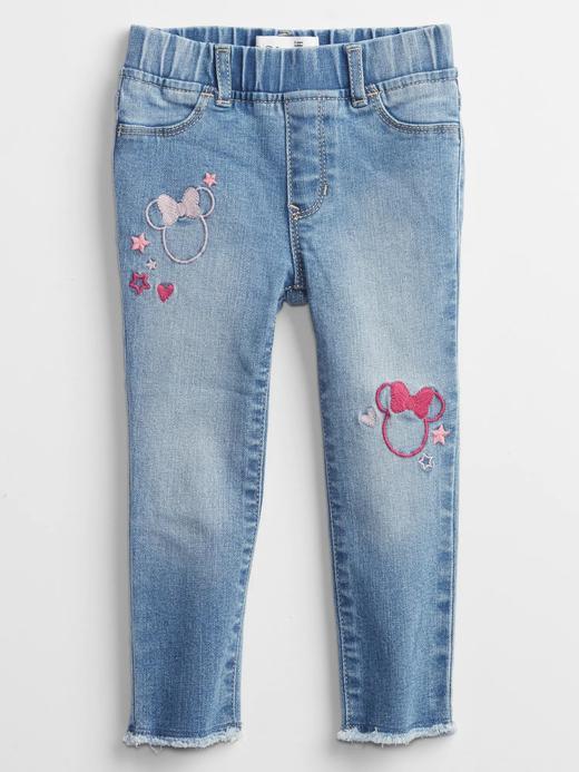 Kız Bebek Mavi Washwell™ Pull On Legging Jean Pantolon