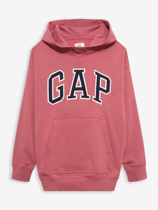 Genç Erkek Pembe Teen Gap Logo Kapüşonlu Sweatshirt