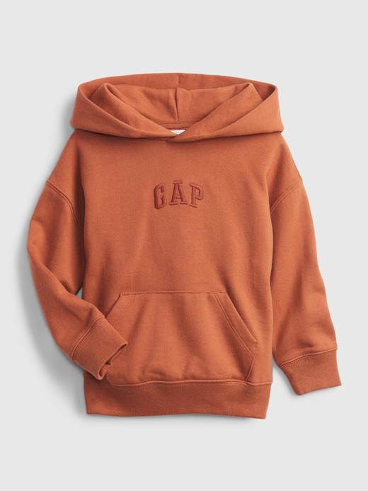 Erkek Bebek Turuncu Good Kapüşonlu Sweatshirt