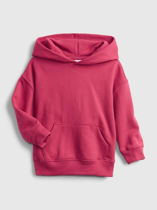 Erkek Bebek Pembe Good Kapüşonlu Sweatshirt