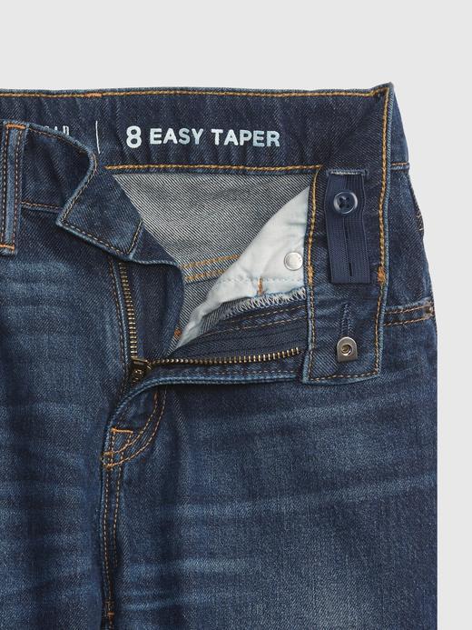 Erkek Çocuk Lacivert Easy Taper Washwell™ Jean Pantolon