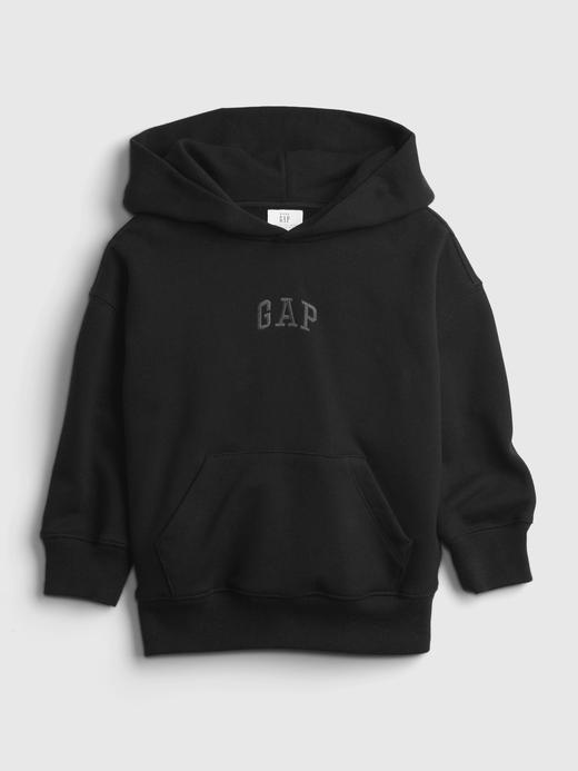Erkek Bebek Siyah Good Kapüşonlu Sweatshirt