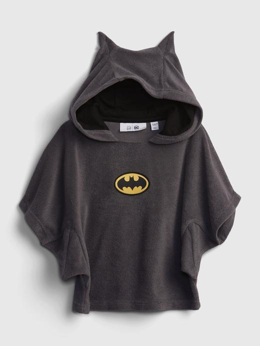 Erkek Bebek gri babyGap | DC™ Batman Desenli Kapüsonlu Havlu