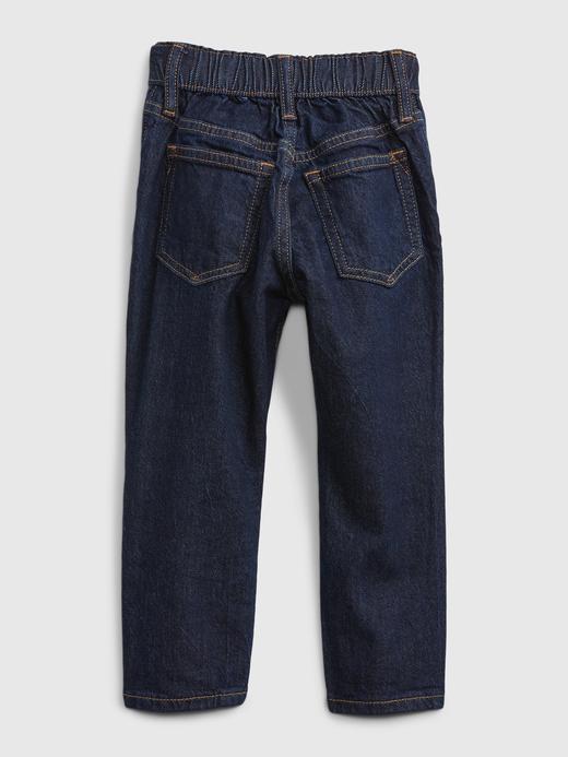 Erkek Bebek Lacivert Pull On Easy Taper Washwell™ Jean Pantolon