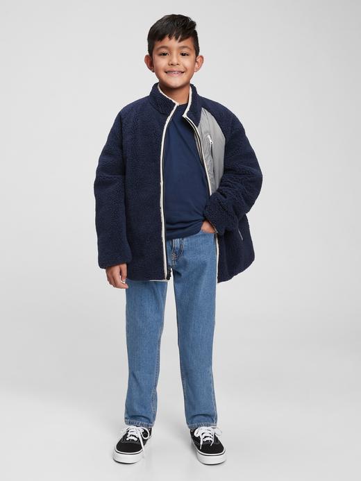 Erkek Çocuk Mavi Easy Taper Washwell™ Jean Pantolon
