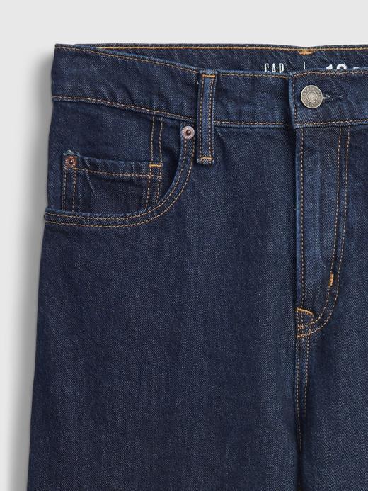 Genç Erkek Lacivert Teen Relaxed Tapered Vintage Washwell™ Jean Pantolon