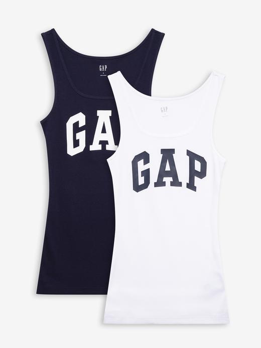 Kadın Çok Renkli 2'li Gap Logo Atlet Seti