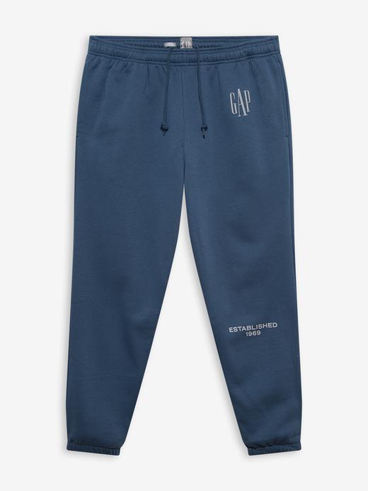Erkek Mavi Gap Logo Jogger Eşofman Altı