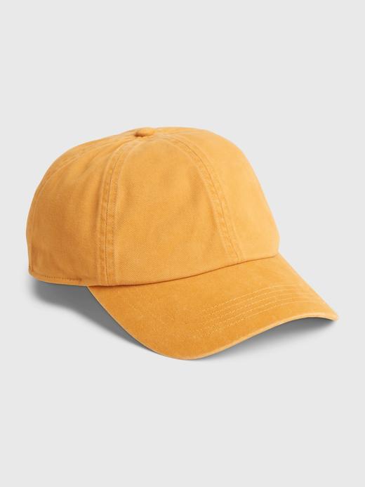 Erkek Sarı Beyzbol Şapkası