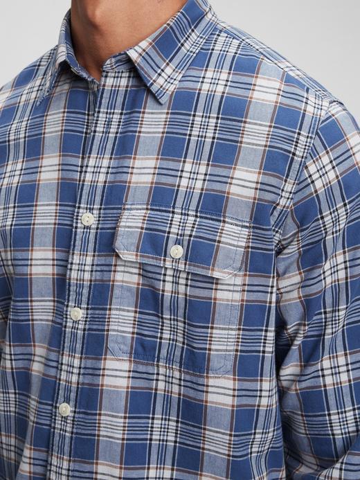 Erkek Beyaz Pamuklu Uzun Kollu Gömlek